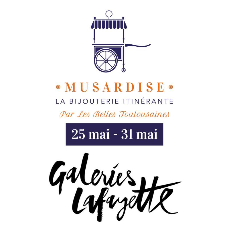 MUSARDISE x Les Galeries Lafayette